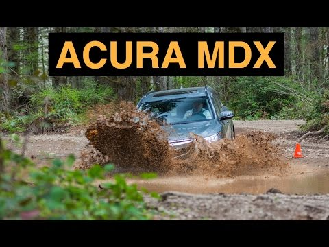 2016 Acura MDX SH AWD - Off Road And Track Review