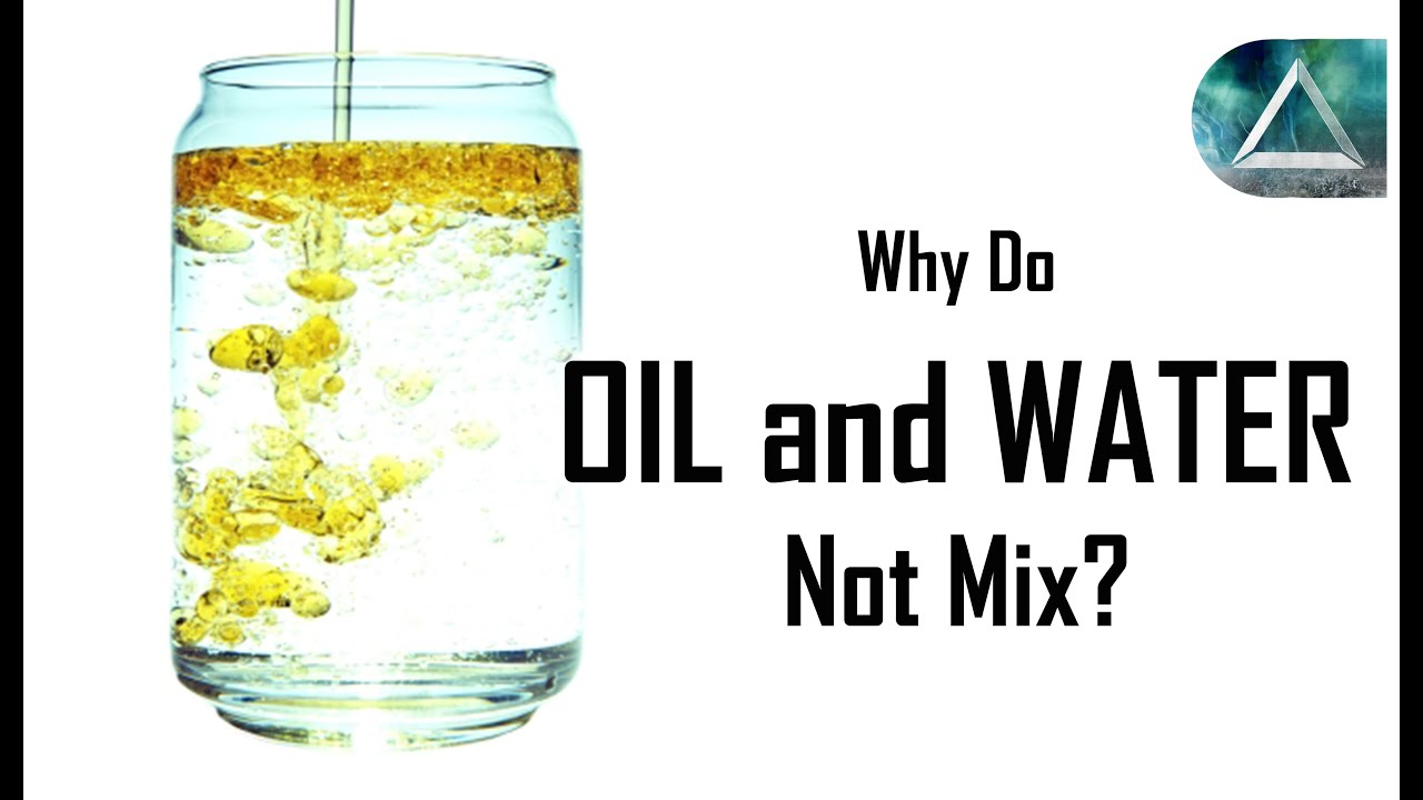 Why Don't Oil and Water Mix? - Explosive Foods and ...