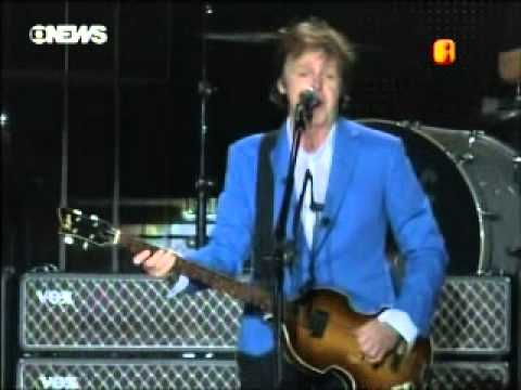 PAUL McCARTNEY NO BOM DIA BRASIL Travel Video
