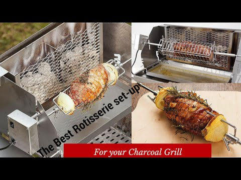 The Best Rotisserie Setup For Your Charcoal Grill