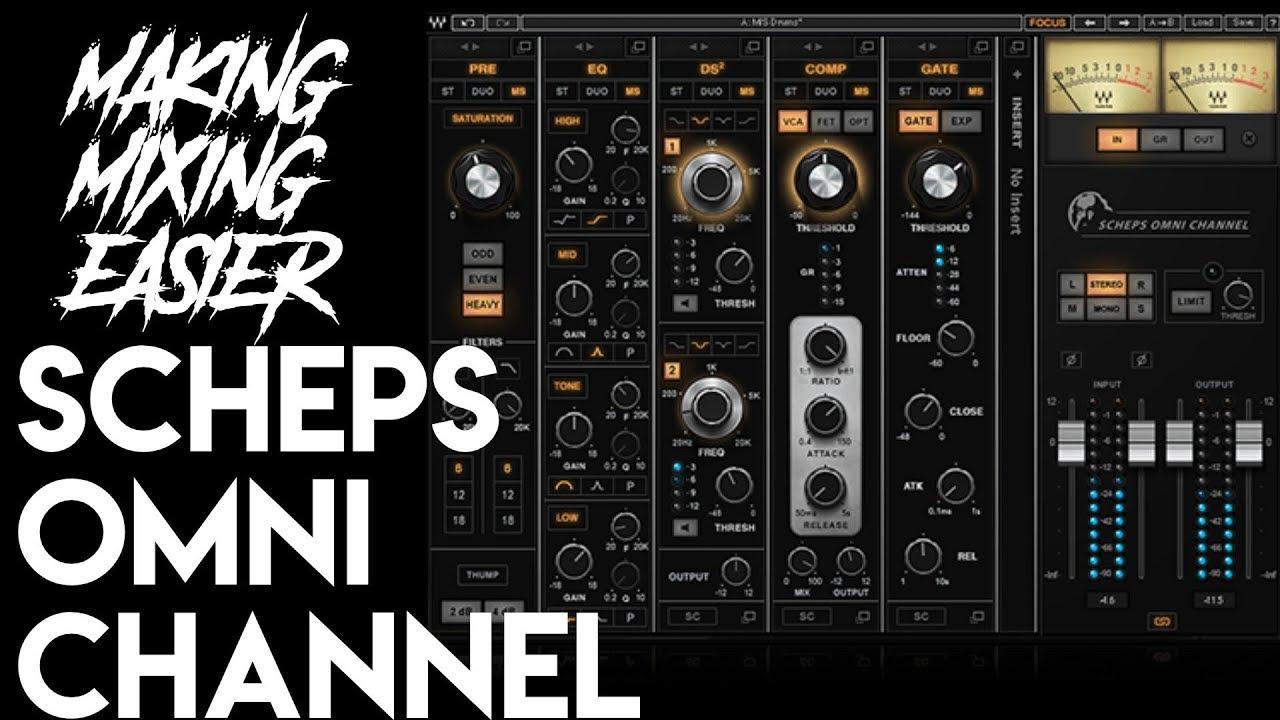 Making Mixing Easier: Scheps Omni Channel | Spectre Sound Studios DEMO