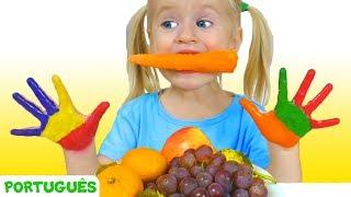 Almoço - canção para crianças   Canções infantis   Katya e Dima