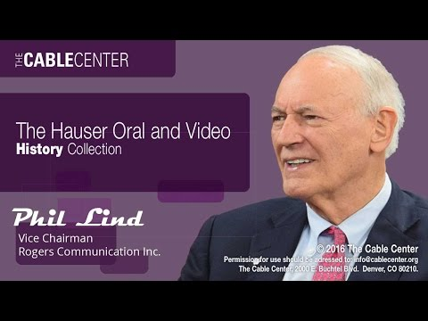 Phil Lind: Oral and Video History Collection Interview