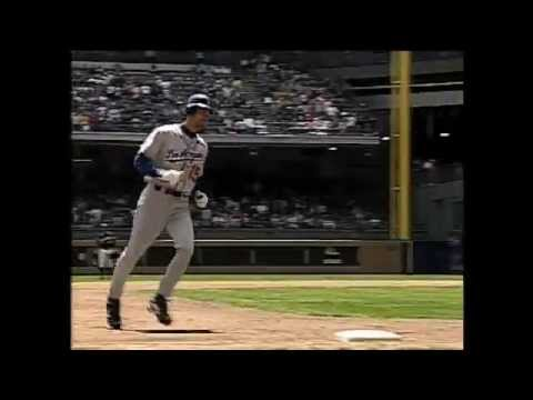 Shawn Green's four home run game - YouTube