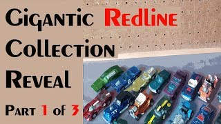 HUGE REDLINE COLLECTION REVEAL Part 1 of 3 – Video #278 – March 9th, 2018