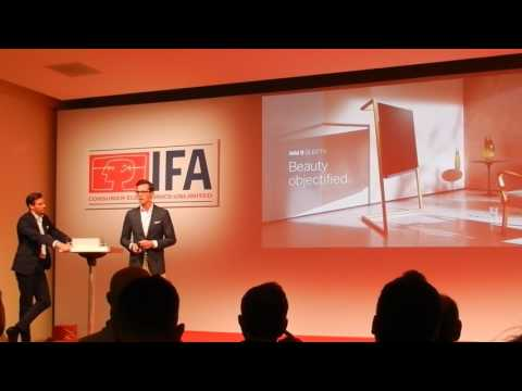 Loewe IFA Innovations Media Briefing Berlin 2017