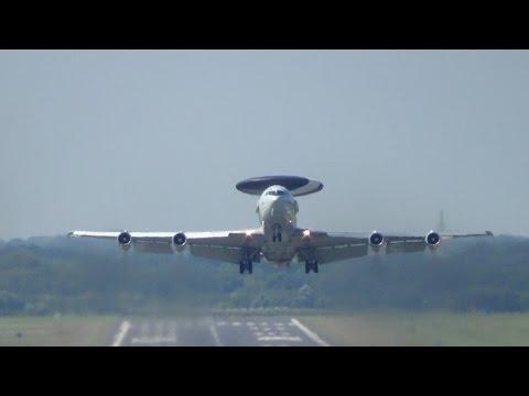 Planespotting an der N.A.T.O. luftwaffenbasis Geilenkirchen