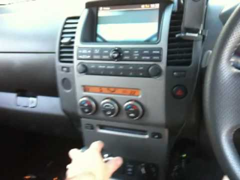 nissan navara radio wiring diagram d40 1999 ford expedition fuse panel reversing camera - youtube