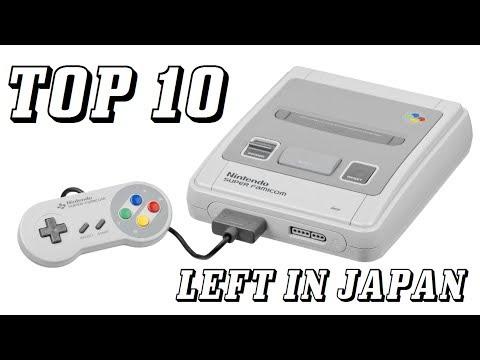 Top 10 Super Famicom Games Left in Japan - KWKBOX