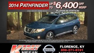 2014 Nissan Pathfinder TV spot December