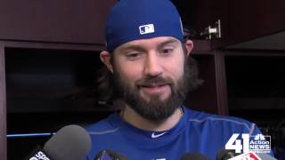 New Royals pitcher talks KC barbecue