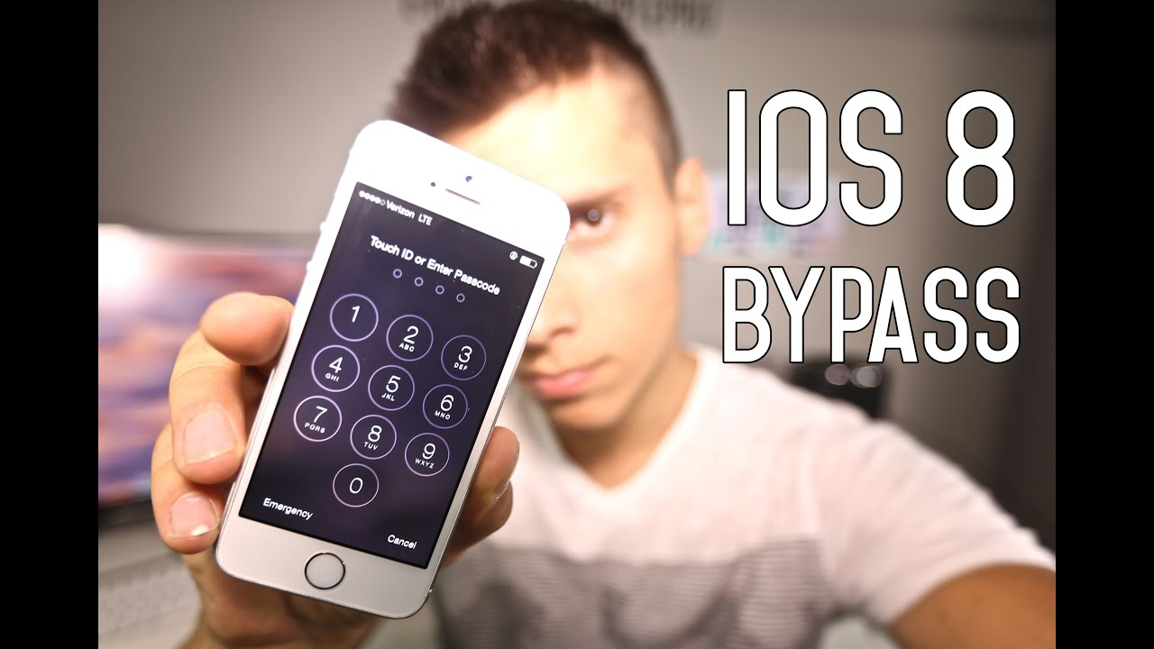 New iOS 8 LockScreen Bypass - Major Security Flaw