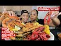 SPICY CRAWFISH + WHOLE CRAB + GREEN LIPS MUSSELS SEAFOOD BOIL MUKBANG!!!