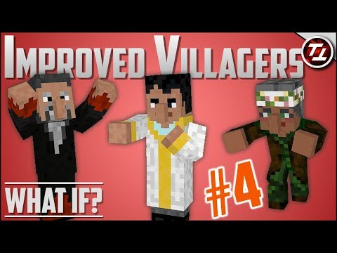 What If Minecraft had MUCH Better Villagers? (PART 4!)