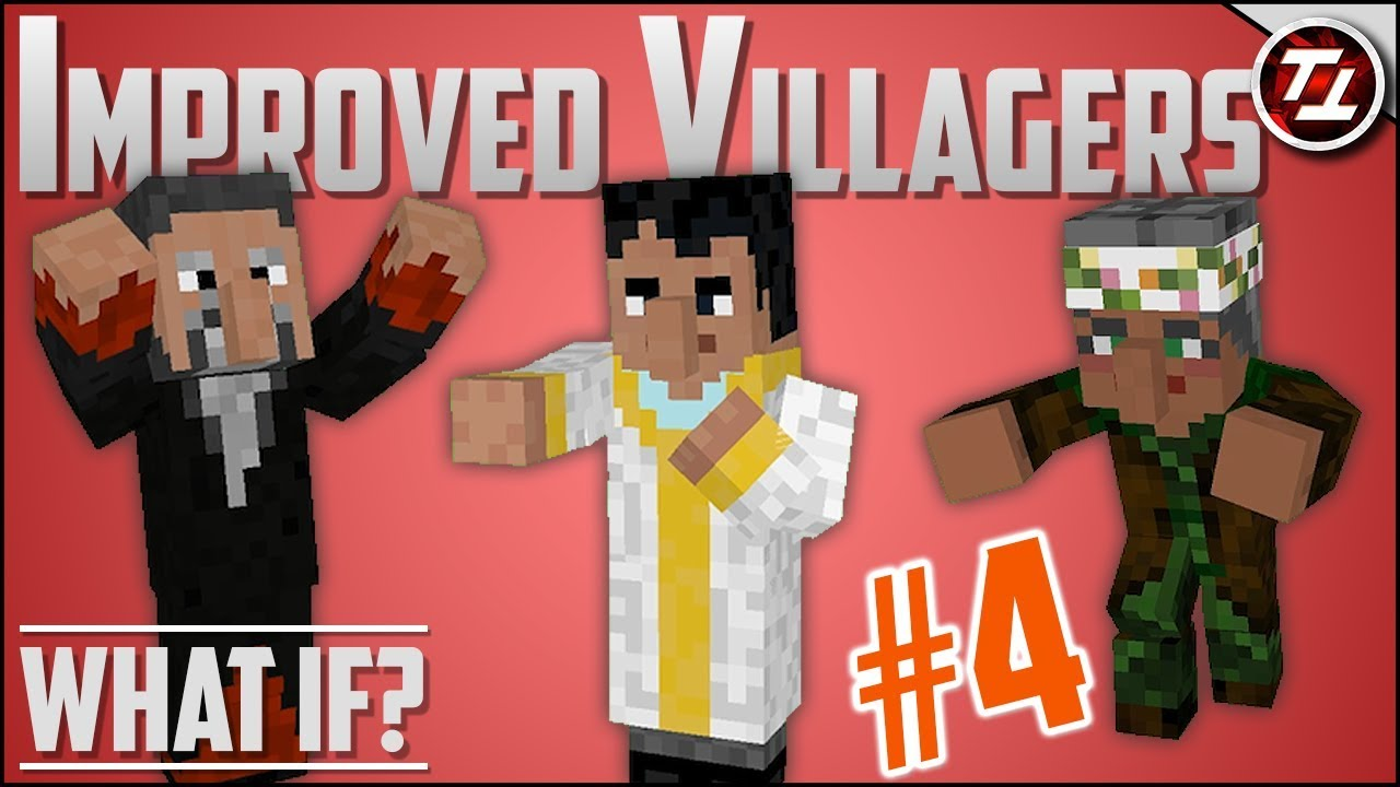 What If Minecraft had MUCH Better Villagers? (PART 4!)