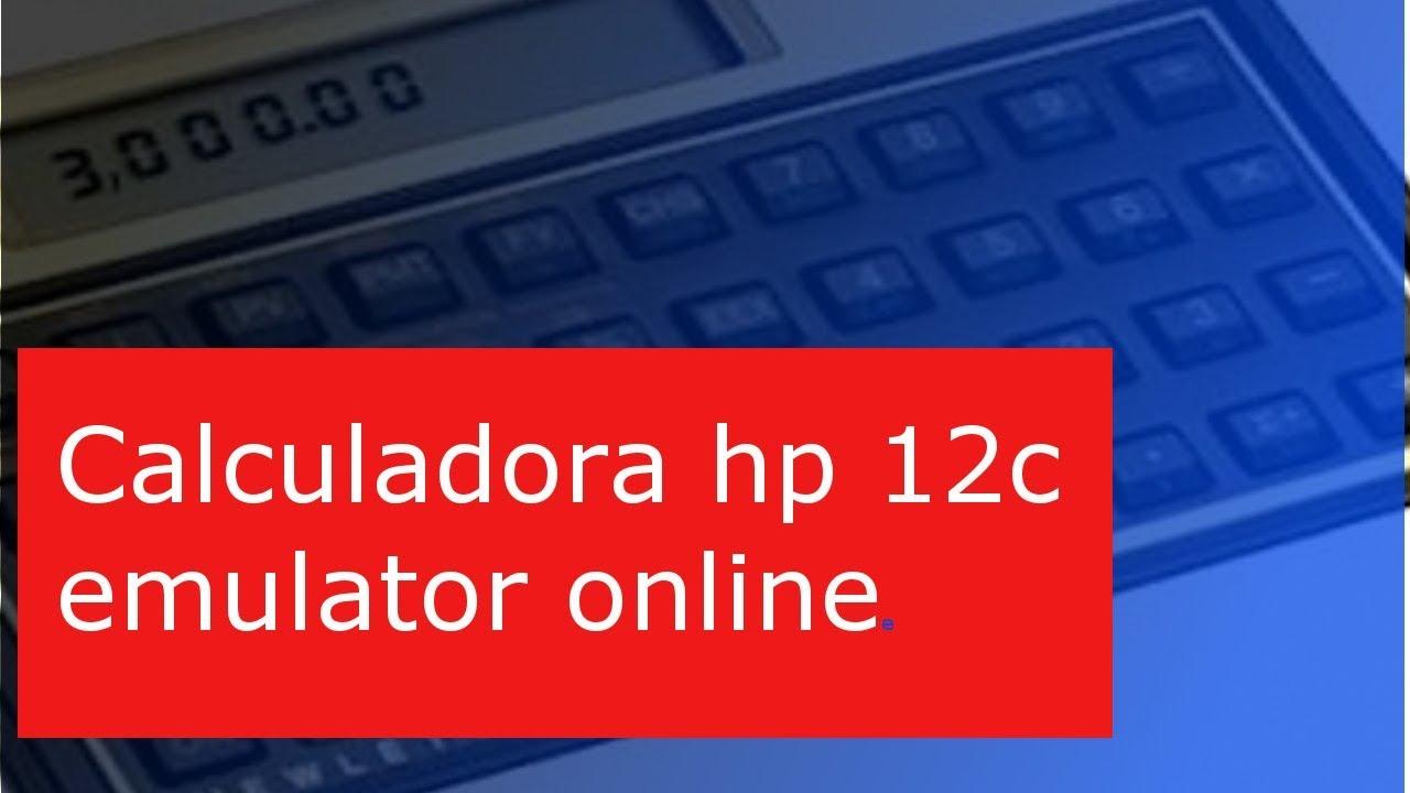 Hp 12c calculator.