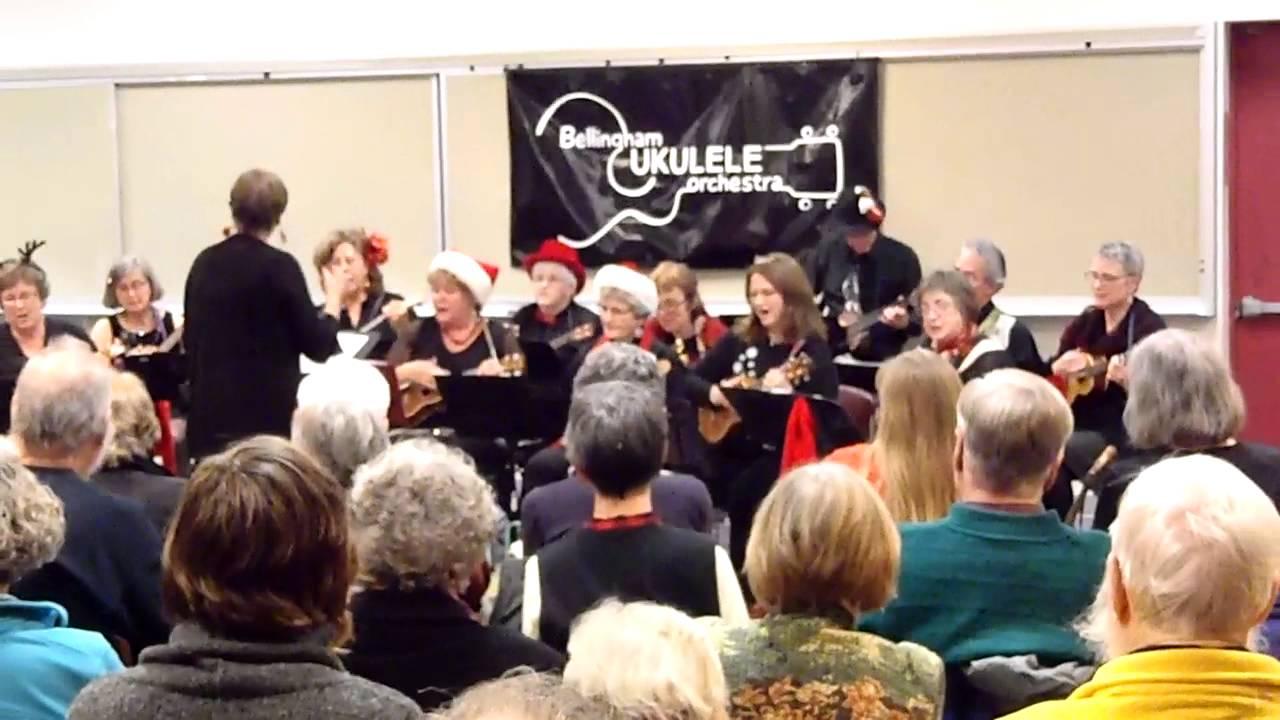 """Bellingham Ukulele Orchestra Holiday Concert, """"Rockin' Around the Christmas Tree"""" - YouTube"""