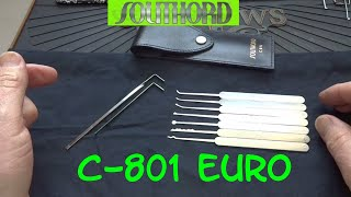 (758) Review: Southord C-801 Euro Pick Kit