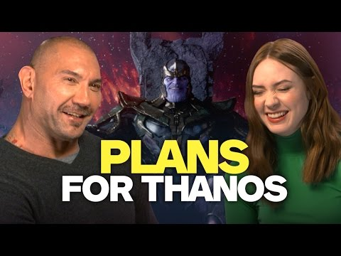 Drax and Nebula's Revenge Plans for Thanos
