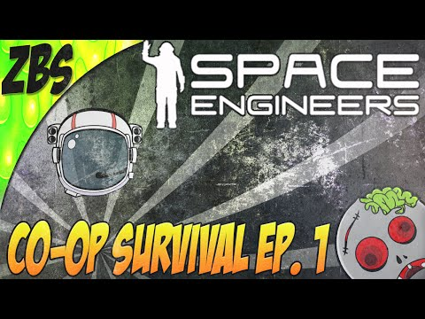 MINING & SHIP REPAIRS (Space Engineers: Co-op Survival W/ Ex