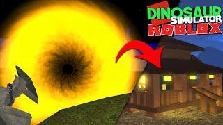Dinosaur Simulator (Roblox) - Halloween Portal, Mapa Assustador! | (#126) (Gameplay)