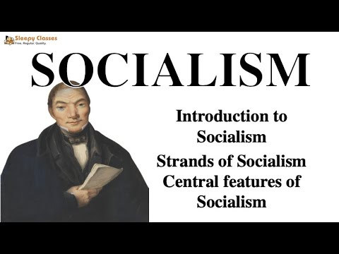 Political Science Optional for UPSC - Socialism - A. 8. e (Political Ideologies)