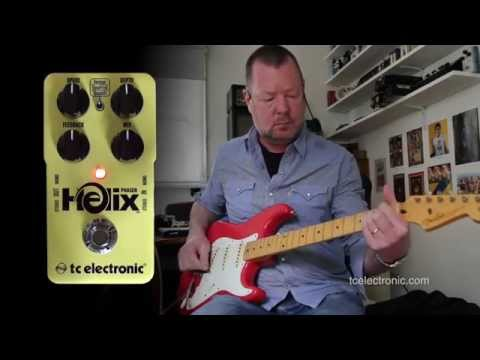 tcelectronic: HELIX Phaser - Demo (stereo with Strat and 2 x JTM45's)