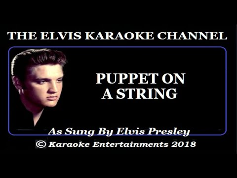 Elvis Presley At The Movies Karaoke Puppet On A String