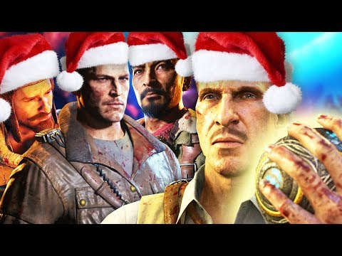 SPECIAL CHRISTMAS MESSAGE FROM TREYARCH ZOMBIES!