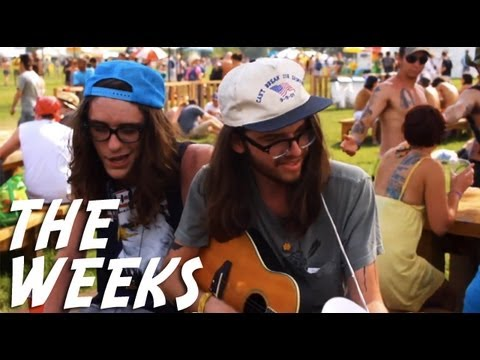 The Weeks - Brother in the Night - backstage at Bonnaroo