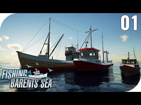 FISHING: BARENTS SEA #01 - MIT DEM KUTTER IN NORWEGEN! 🎣 || PantoffelPlays