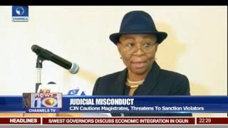 Judicial Misconduct: CJN Cautions Magistrates, Threatens To Sanction Violators