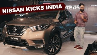 Nissan Kicks India Debut - Launch Details | Hindi | Hyundai Creta Challenger