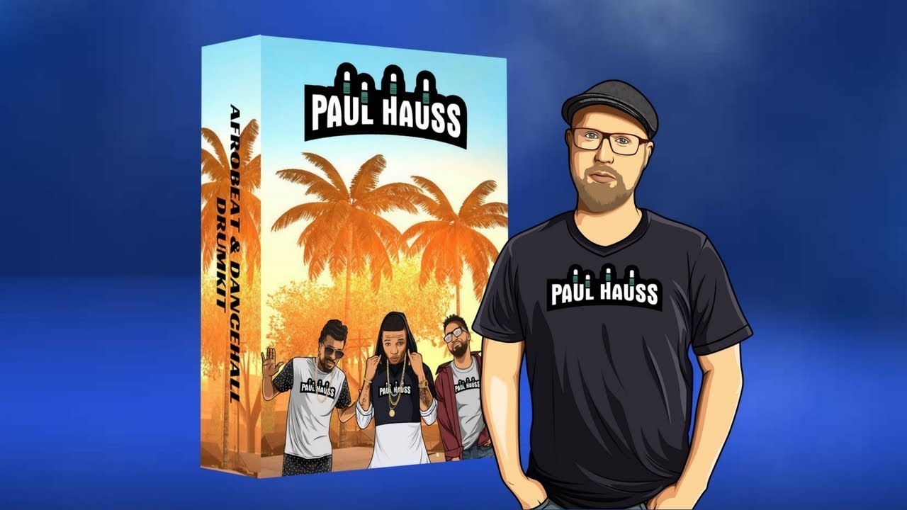 FREE Download: Afrobeat & Dancehall Drum Kit by Paul Hauss