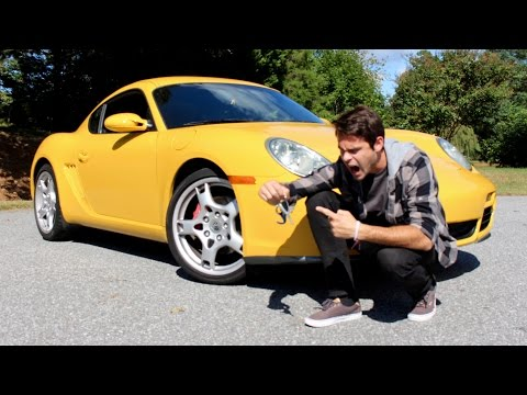 Porsche Cayman Road Trip - My Friend Buys His Dream Car!