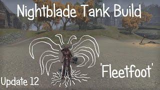 ESO - Fleetfoot - Nightblade Tank build