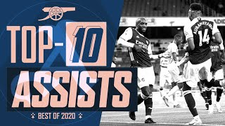 Saka, Willock, Lacazette, David Luiz | Top 10 Arsenal assists of 2020