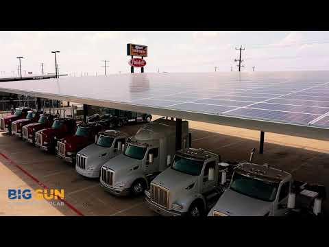 Big Sun Community Solar - Rush Enterprises Solar Carport