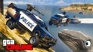 BUSTED! WHALE AS CROOK?! || GTA 5 Online || PC (Funny Moments)