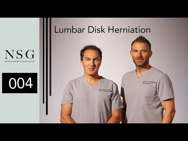 NSG - Lumbar Disk Herniation (Dr. Jared Ament & Amir Vokshoor)