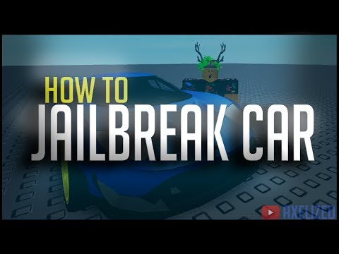 MAKE A JAILBREAK CAR! How to make a Suspension Vehicle in ROBLOX!