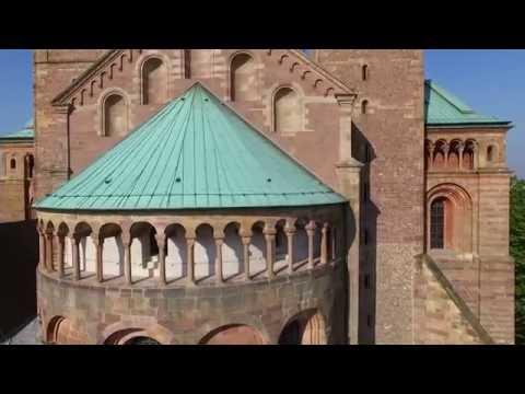 Speyer birdsview - Die Kultur- und Domstadt aus der Vogelpersektive