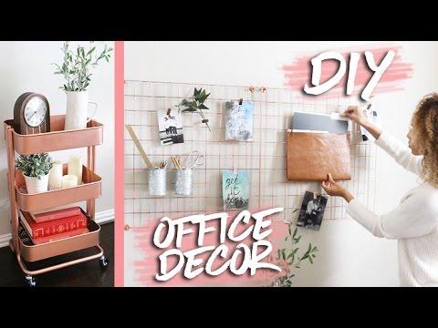 Home Office Makeover + DIY Decor | RAVEN ELYSE