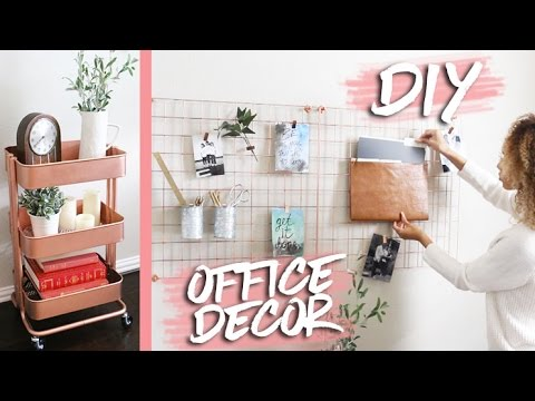 Home Office Makeover + DIY Decor | RAVEN ELYSE