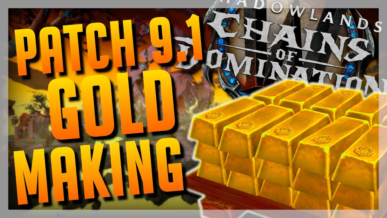 SO LÄUFT Patch 9.1 Gold Making + DICKES GIVEAWAY! ► World of Warcraft Shadowlands Gold Guide