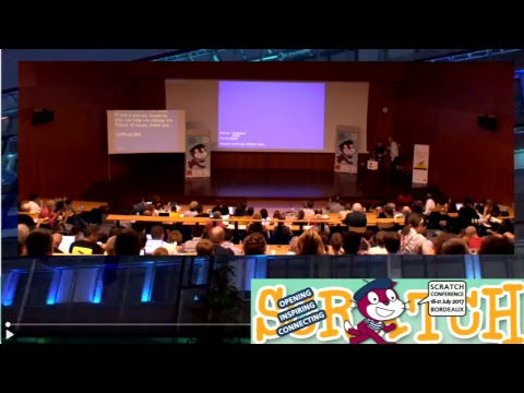 Keynote plenary session3 : Mitchel Resnick, Samuel Aaron #Scratch2017BDX #live
