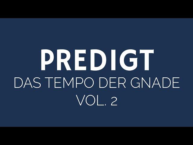 Viel Mehr - Tempo der Gnade Vol. 2 | ELIM KIRCHE GEESTHACHT | HD