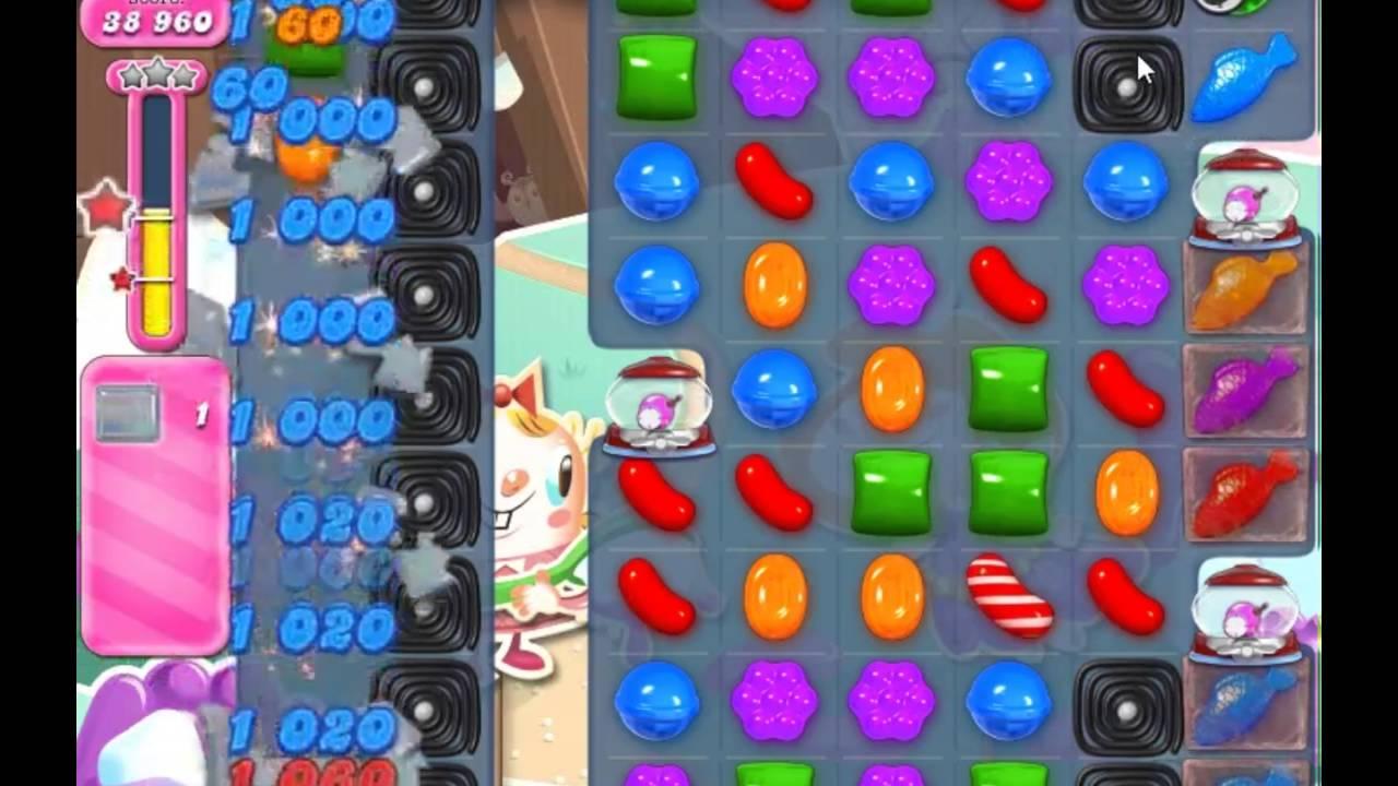 Candy Crush Saga Level 2039 - NO BOOSTERS - YouTube