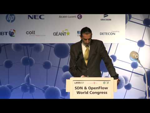 Huawei's Dr Justin Dustzadeh's Keynote at SDN & OpenFlow Congress 2013