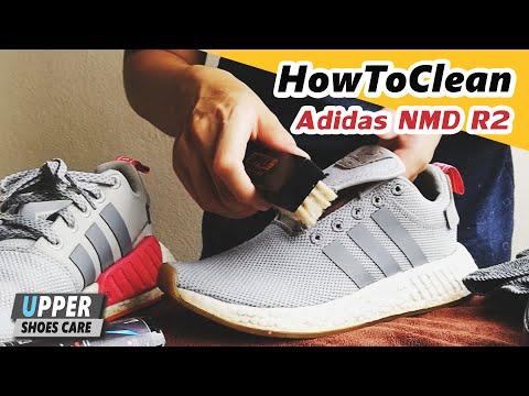 การทำความสะอาดรองเท้า Adidas NMD R2